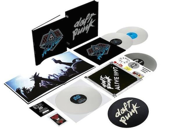 Daft Punk - Alive boxszet.