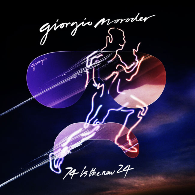 Giorgio Moroder - 74 Is The New 24 - Cover 2014.