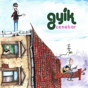 Gyik zenekar - CD boritó 2014 By Lakatos István.