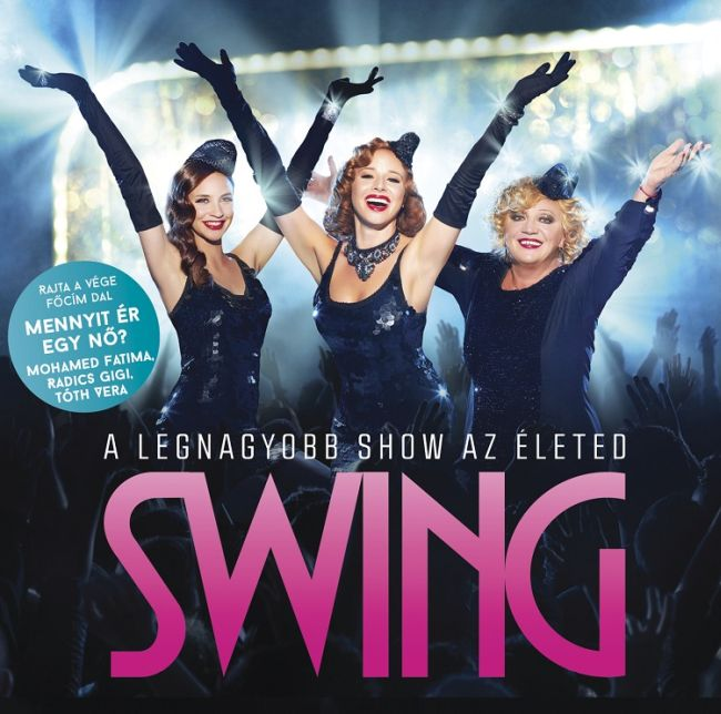 Swing filmzene CD Cover / CD borító 2014 .