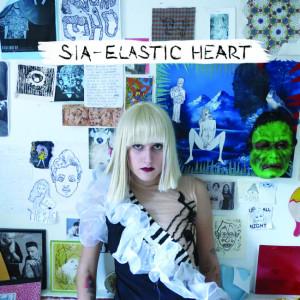 Sia - Elastic Heart CD borító / cover.