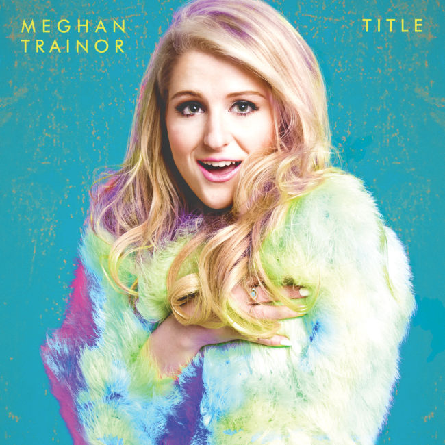 Meghan Trainor - Title CD Cover / CD borító 2015.