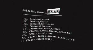 Jazzekiel - Szeretni másokat tracklista 2015.