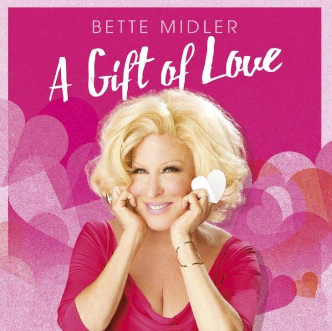 Bette Midler - A Gift of Love Cd borító / Cover.