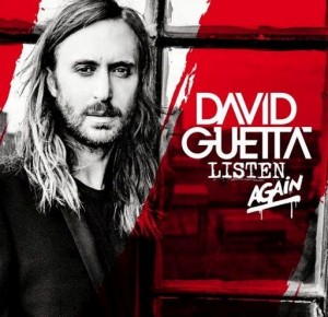 David Guetta - Listen Again CD cover 2015.